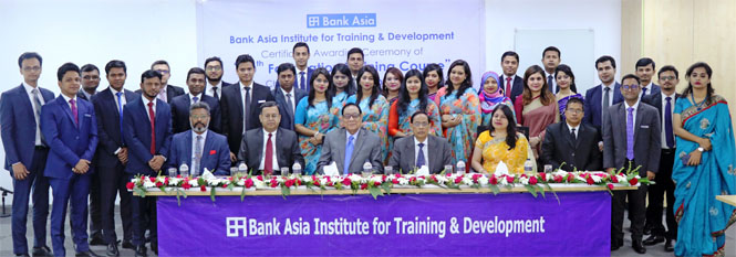 50th Foundation Training Course Certificate Awarded Ceremony