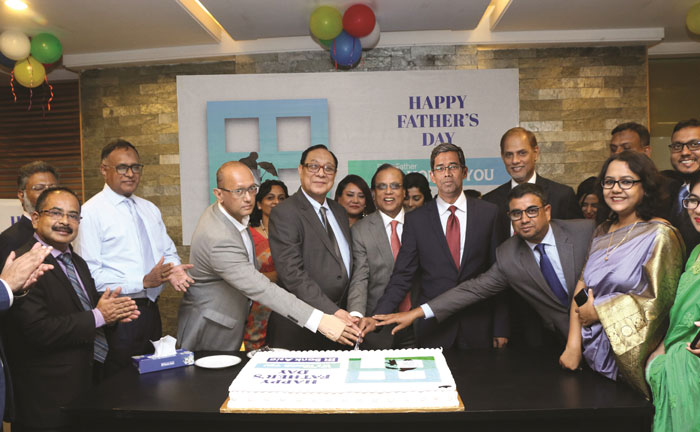 Bank Asia celebrated Father's Day-2019 to express honor and love for all the fathers of the world.