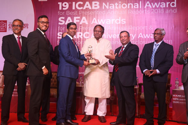 Bank Asia has been awarded 1st prize by ICAB for BPAR