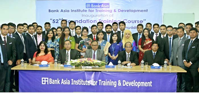 Inauguration of 52nd Foundation Training Course