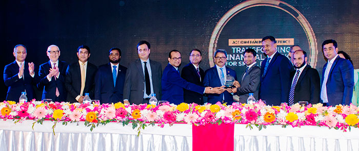 Bank Asia has been awarded