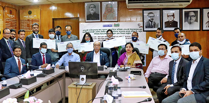 Bank Asia Distributed Cheque of Tk. 5 (Five) Crore to CMSME Entrepreneurs