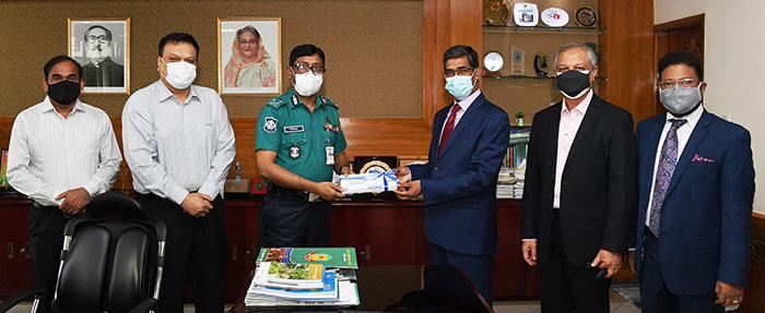 Bank Asia donated Tk. 50 Lac to Dhaka Metropolitan Police