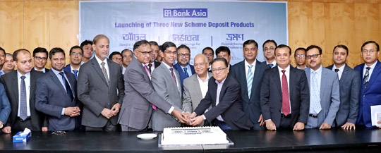 Bank Asia launched 3 (Three) new Retail Deposit Scheme Products for three Different Customer Segments