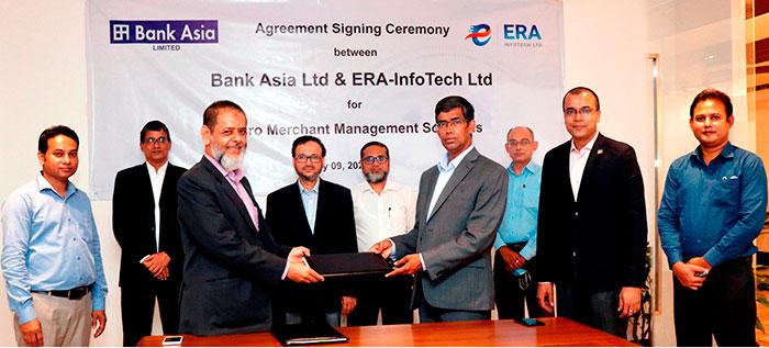 Bank Asia & ERA-InfoTech Signed an Agreement