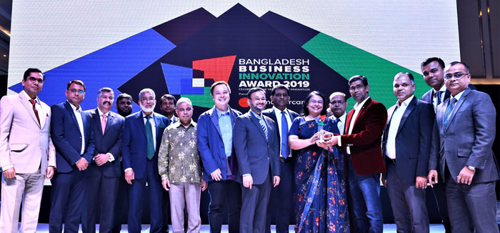 Bank Asia wins the Best Business Innovation Award