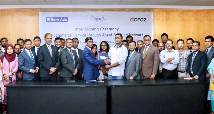 Agreement signing ceremony with Daraz